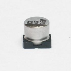 Capacitor Eletrolítico SMD 47μF 16V 105°C 47uF