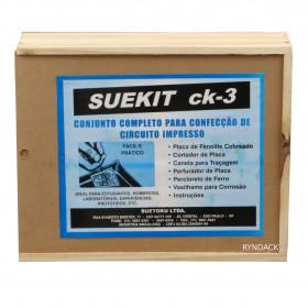 Kit para Confecção de Circuito Impresso Suetoku CK-3