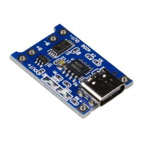 Módulo Controlador de Carga para Bateria de Lítio TP4056 USB C
