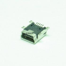 Conector Mini USB Tipo B Fêmea SMD