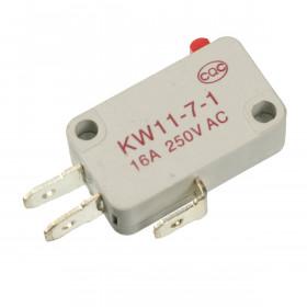 Chave Micro Switch Cinza 250V 16A KW11-7-1 (Fim de Curso)