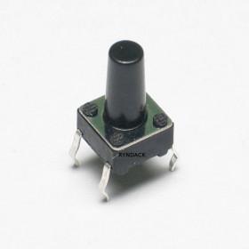 Chave Tactil 4 Terminais KFC-A06 6x6x11mm 180°