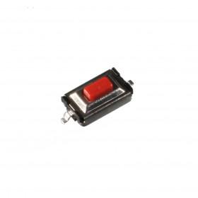 Chave Tactil SMD 2 Terminais KFC-003A 3x6x2,5mm 180°