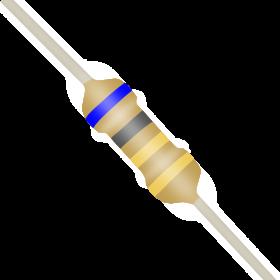 Resistor 6,8Ω 5% 1/4W CR25 6R8 6,8R