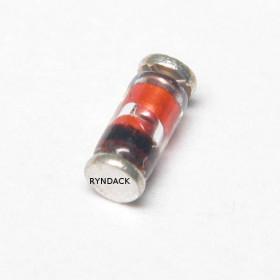 LL4148 SMD MiniMELF Diodo Rápido de Sinal 300mA 75V (1N4148)