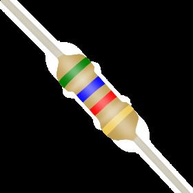 Resistor 5,6kΩ 5% 1/4W CR25 5,6k 5k6