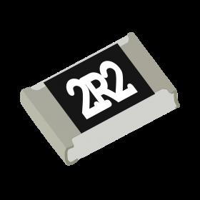 Resistor SMD 0805 2,2Ω (2R2 2,2R)