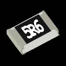 Resistor 5,6Ω 5% 1/8W SMD 0805 5,6R 5R6