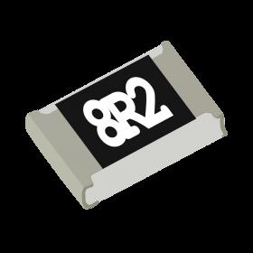 Resistor 8,2Ω 5% 1/8W SMD 0805 8,2R 8R2