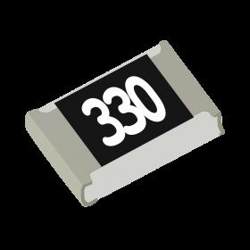 Resistor 33Ω 5% 1/8W SMD 0805 33R