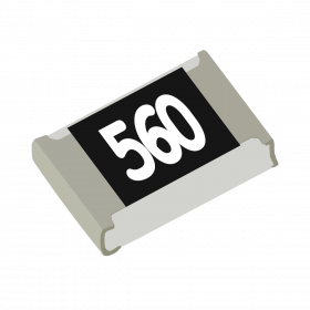 Resistor 56Ω 5% 1/8W SMD 0805 56R