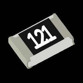 Resistor 120Ω 5% 1/8W SMD 0805 120R
