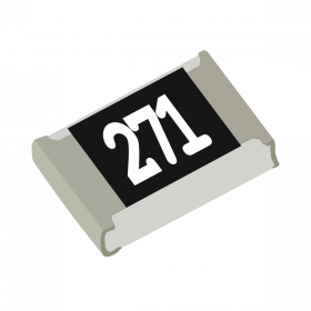 Resistor 270Ω 5% 1/8W SMD 0805 270R