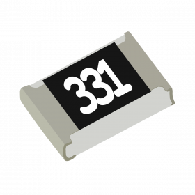 Resistor 330Ω 5% 1/8W SMD 0805 330R