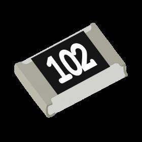 Resistor 1kΩ 5% 1/8W SMD 0805 1k