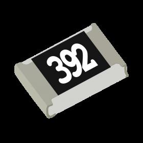 Resistor 3,9kΩ 5% 1/8W SMD 0805 3,9k 3k9
