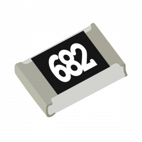 Resistor 6,8kΩ 5% 1/8W SMD 0805 6,8k 6k8