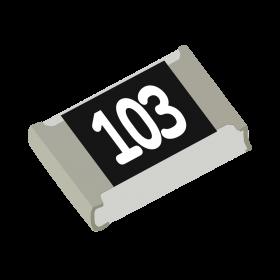Resistor 10kΩ 5% 1/8W SMD 0805 10k