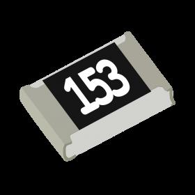 Resistor 15kΩ 5% 1/8W SMD 0805 15k