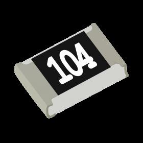Resistor 100kΩ 5% 1/8W SMD 0805 100k