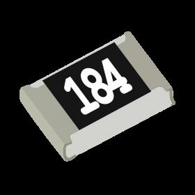 Resistor 180kΩ 5% 1/8W SMD 0805 180k