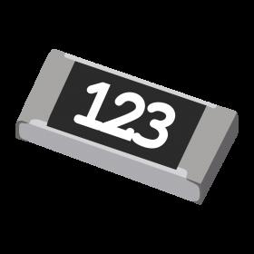 Resistor 12kΩ 5% 1/4W SMD 1206 12k