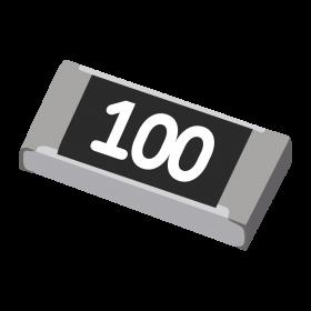 Resistor 10Ω 5% 1/4W SMD 1206 10R