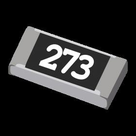Resistor 27kΩ 5% 1/4W SMD 1206 27k