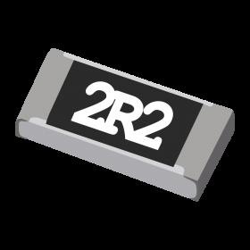Resistor 2,2Ω 5% 1/4W SMD 1206 2,2R 2R2