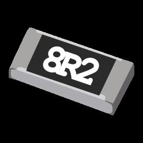 Resistor 8,2Ω 5% 1/4W SMD 1206 8,2R 8R2