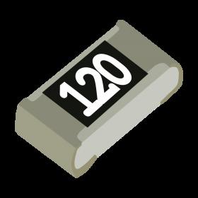 Resistor 12Ω 5% 1/10W SMD 0603 12R
