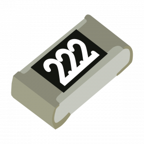 Resistor 2,2kΩ 5% 1/10W SMD 0603 2,2k 2k2