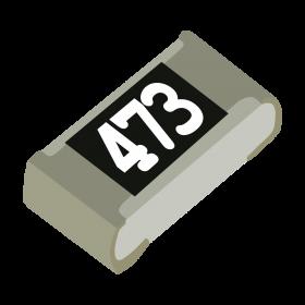 Resistor 47kΩ 5% 1/10W SMD 0603 47k