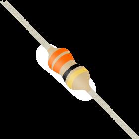Resistor 33Ω 5% 1/6W CR16 33R