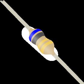 Resistor 6,8Ω 5% 1/6W CR16 6,8R 6R8