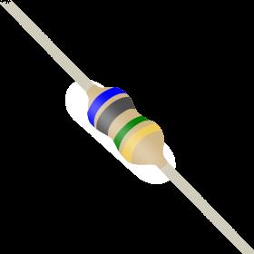 Resistor 6,8MΩ 5% 1/6W CR16 6,8M 6M8