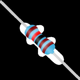 Resistor 1,2kΩ 1% 1/4W 1,2k 1k2