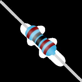 Resistor 1,8kΩ 1% 1/4W 1,8k 1k8