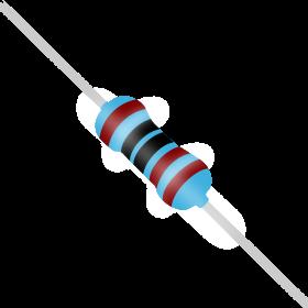 Resistor 1kΩ 1% 1/4W 1k