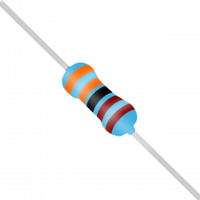 Resistor 3,3kΩ 1% 1/4W 3,3k 3k3