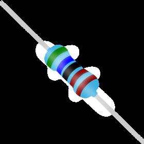 Resistor 5,6kΩ 1% 1/4W 5,6k 5k6