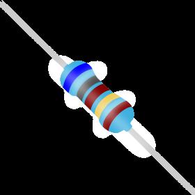 Resistor 68,1Ω 1% 1/4W 68,1R 68R1