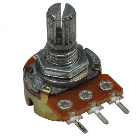 Potenciômetro Linear 500kΩ L15 - Mini (WH148-1)