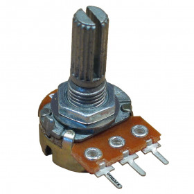 Potenciômetro Linear 50kΩ L20 Mini WH148-1