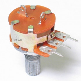 Potenciômetro Linear 20kΩ L16 com Chave Mini WH160-B