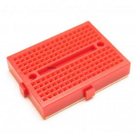 Mini Protoboard 170 Furos Vermelho