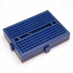 Mini Protoboard 170 Furos Azul