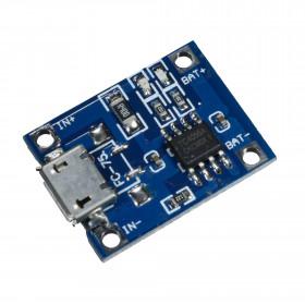 Módulo Controlador de Carga para Bateria de Lítio TP4056