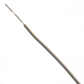 Cabo Estanhado tipo Cabinho para Eletrônica Branco 0,10mm² (metro)
