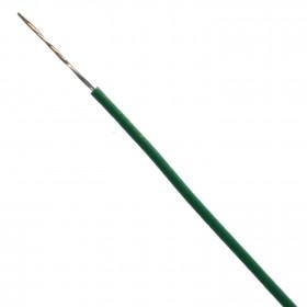 Cabo Estanhado tipo Cabinho para Eletrônica Verde 0,10mm² (metro)